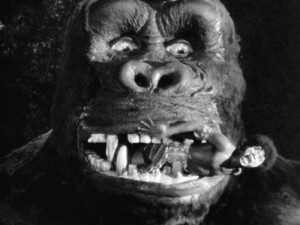 king kong eating villager