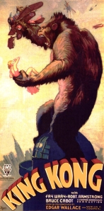 King Kong catches his flight