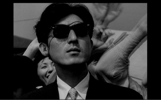 dr. serizawa wearing sunglasses