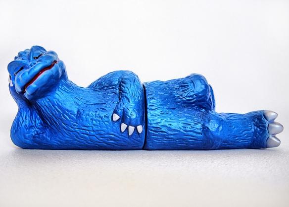 godzilla figure reclining