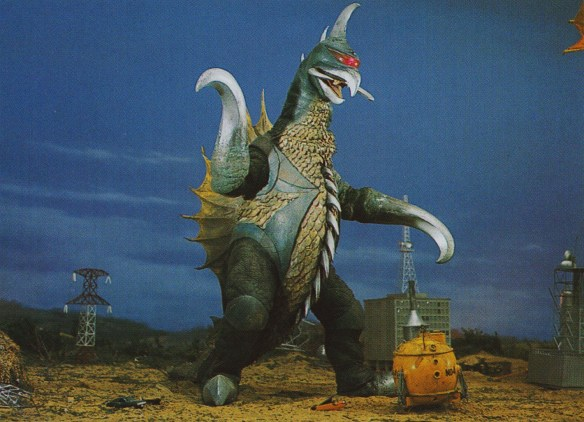 Gigan is a punk-rock chicken-fish-robot from outer space, because these are the best movies in the universe.