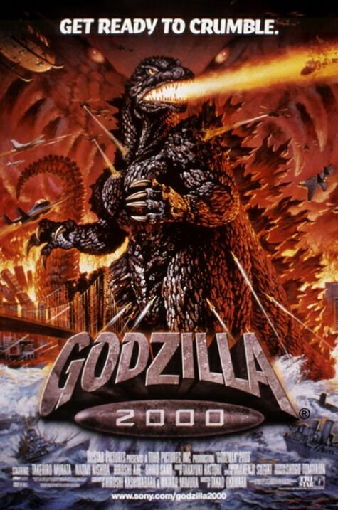 And hey, holy shit, Godzilla's actually in this one!
