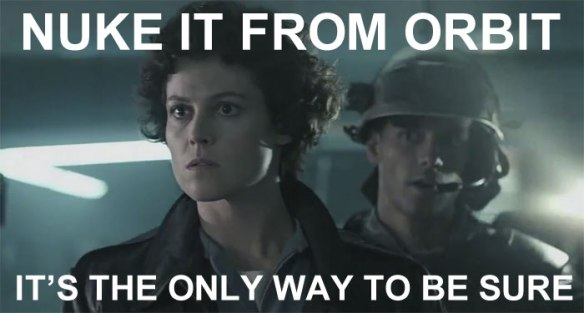 That town should just be happy Ripley wasn't there to offer any strategic pointers.
