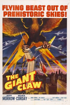 Between Gorgo and The Giant Claw, being scared to death was one of the most common ways to die back in the day. Probably topped only by broken hearts and terminal cases of the blues.