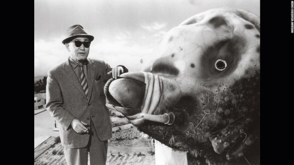 Monsters always enjoyed working with Tsuburaya, as a fellow 300 ft. tall creature, they found him extremely relatable.