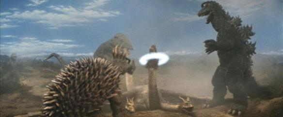Including a fucking kill shot on Ghidorah in Destroy All Monsters.