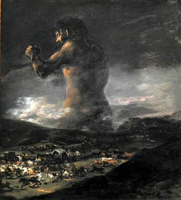 Unfortunately in order to maintain a PG-13 rating they couldn't give all the monsters huge buttcracks like in the painting.