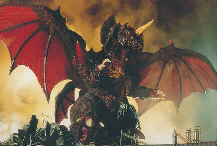 Mechagodzilla may be a dickhead, but Destoroyah is almost the actual devil.