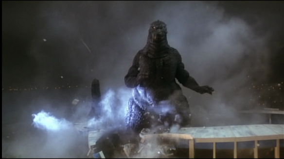 Of course, for Godzilla,