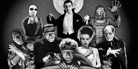 I get together with the Frankensteins, Draculas, Wolfmans, and Creature from the Black Lagoons and we all have a good laugh about it.