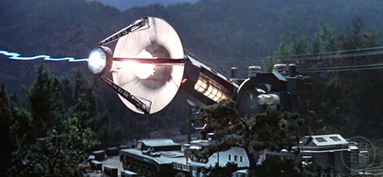 Who knew your uncle's 80s TV satellite doubled as an effective anti-monster weapon?