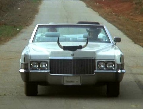 True story: I had a Matchbox car of Boss Hogg's BITCHING Cadillac as a kid, and I loved to pretend that the bull horns could spin fast enough to make the car fly like a helicopter.