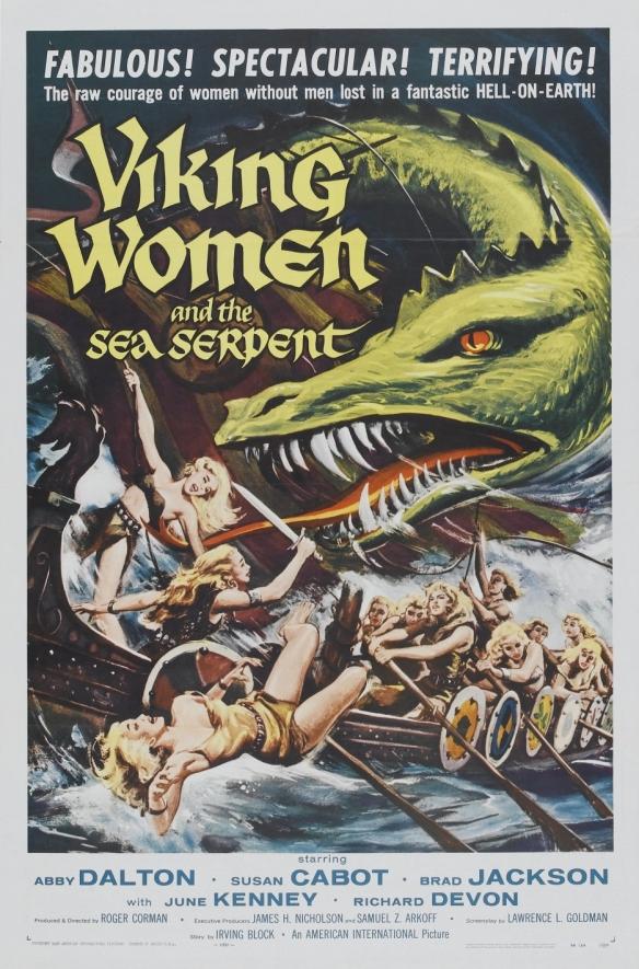 VikingWomenSeaSerpentPoster